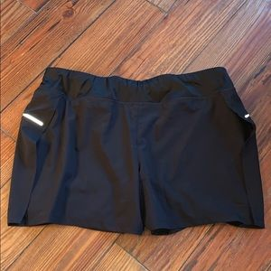AVIA black athletic shorts large 12-14